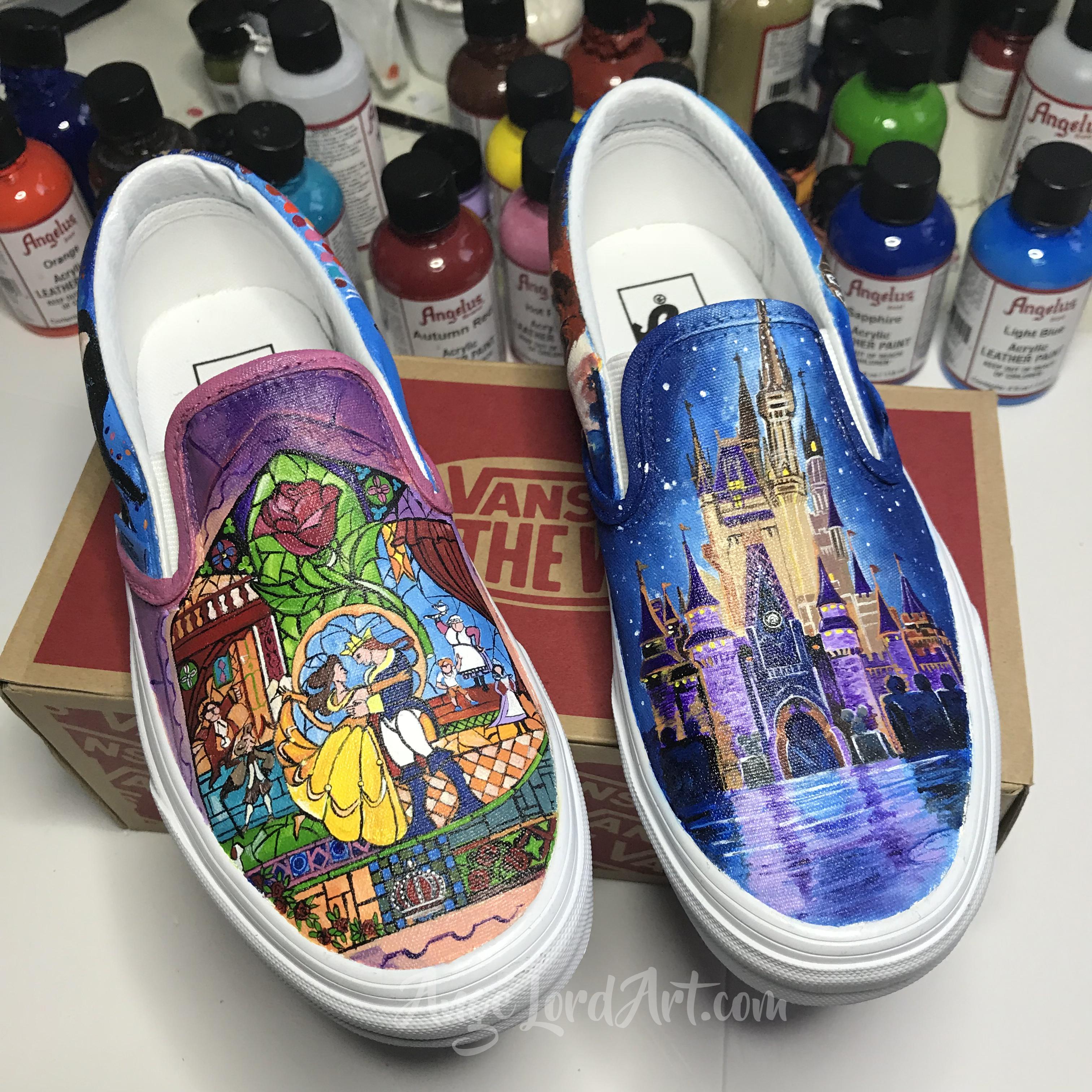 vans custom made shoes